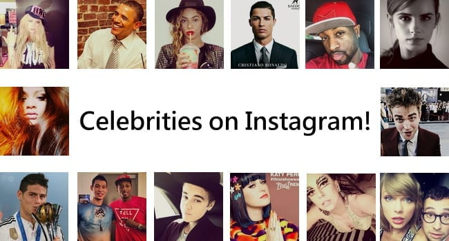 50 Best Celebrity Instagram Accounts to Follow in USA