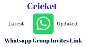 Cricket WhatsApp Group Links