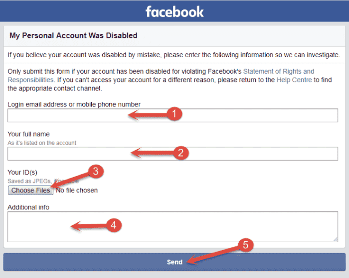 How to Recover Disabled Facebook Account?