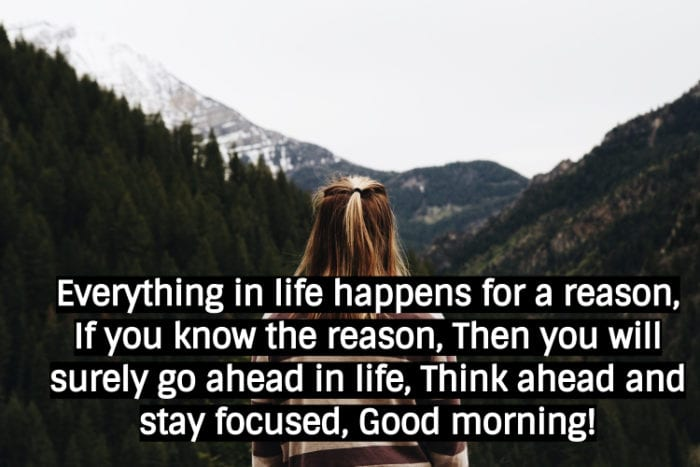Good Morning Thought Images