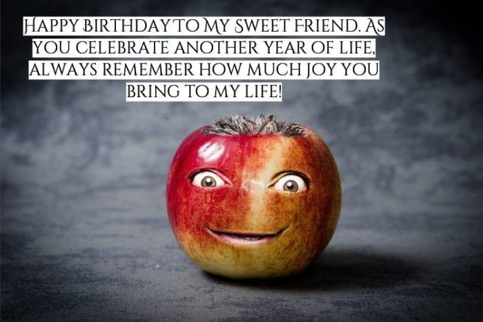 Happy Birthday Bestie meme