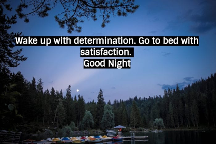 Good Night Quote Images