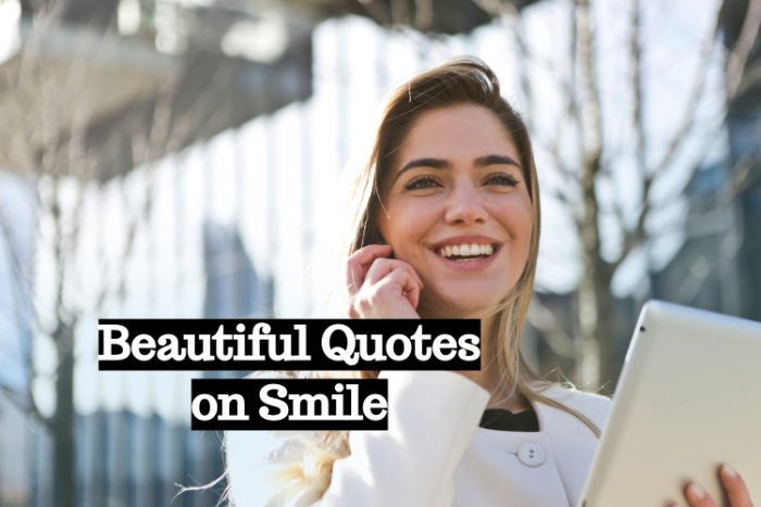 Beautiful Quotes on Smile