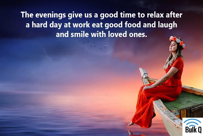 good evening photos