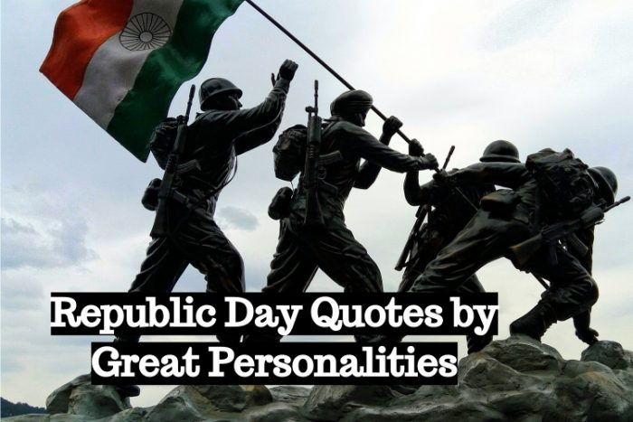 Republic Day Quotes by Great Personalities